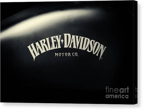 Hd Iron 883 Gas Tank Canvas Print