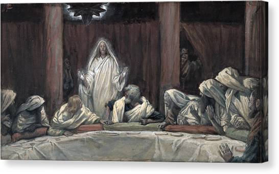 Apparition Canvas Print - He Appeared To The Eleven by Tissot