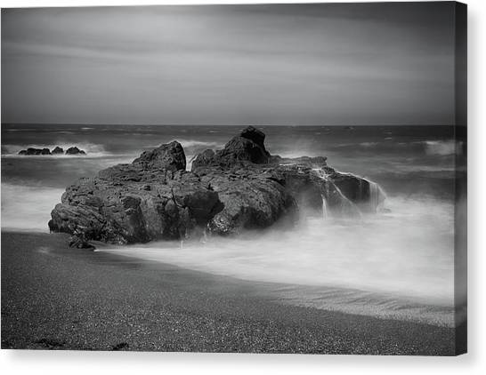 Ca Canvas Print - He Enters The Sea by Laurie Search