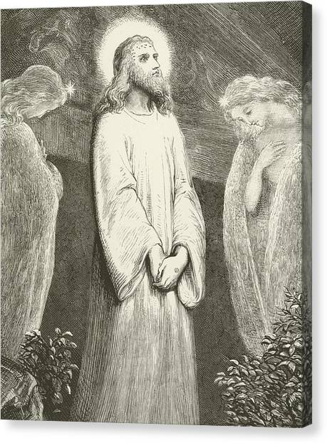 Resurrected Canvas Print - He Is Risen by English School