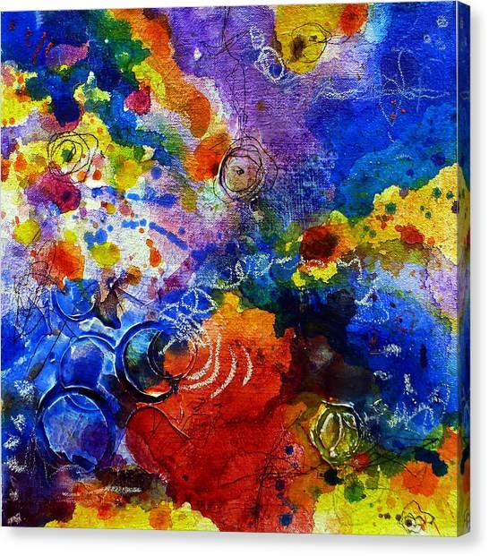 Head Over Feet Canvas Print