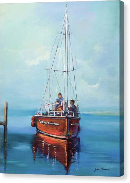 Canvas Print - Headed Out by Jane Woodward