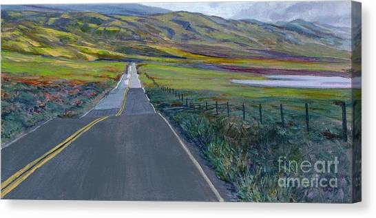 Heading For The Hills Canvas Print