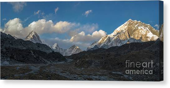 K2 Canvas Print - Heading To Everest Base Camp by Mike Reid