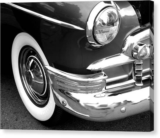 Headlight Canvas Print by Audrey Venute
