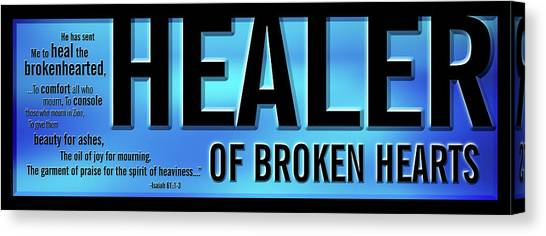 Healer Of Broken Hearts Canvas Print
