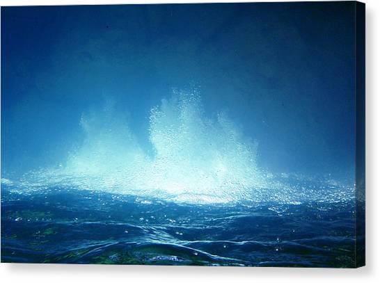 Healing 2 Canvas Print by Andrew Zeutzius
