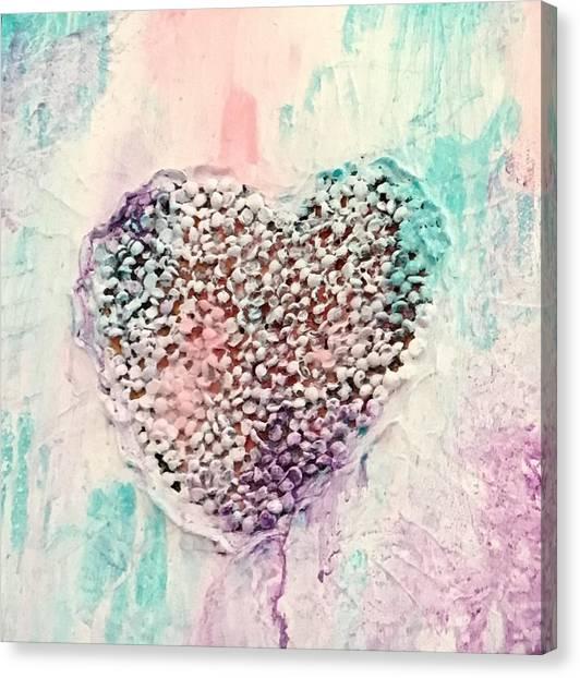 Healing Heart-2 Canvas Print