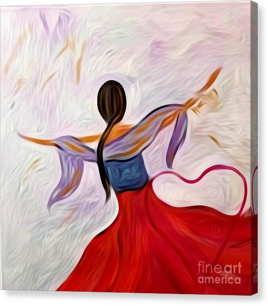 Healing Love Canvas Print