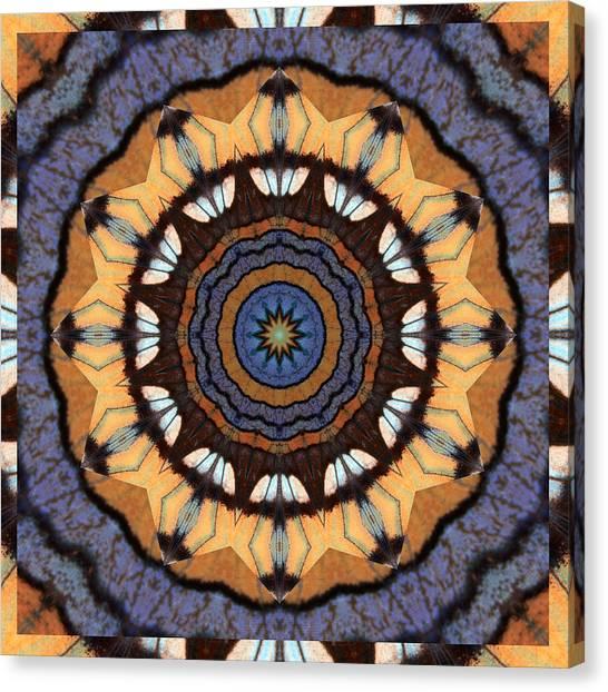 Healing Mandala 16 Canvas Print