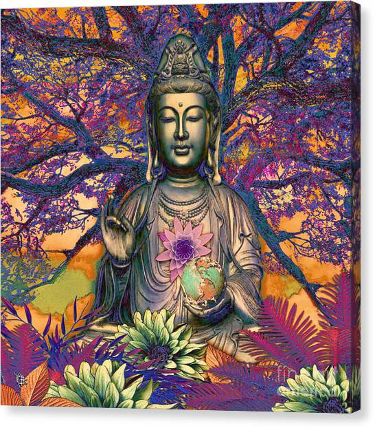 Mercy Canvas Print - Healing Nature by Christopher Beikmann