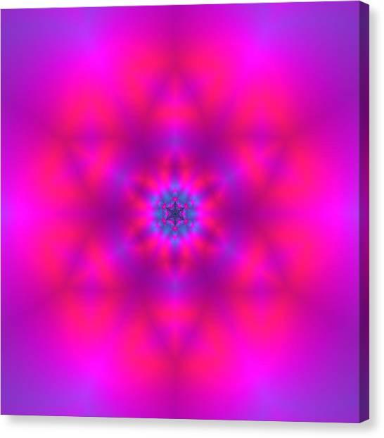 Canvas Print featuring the digital art Healing Number Xxx by Robert Thalmeier