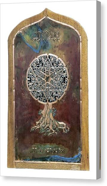 Healing The Tree Of Life Canvas Print