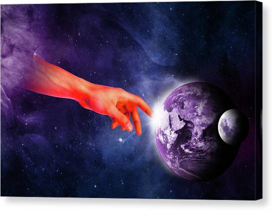 Healing Touch Canvas Print
