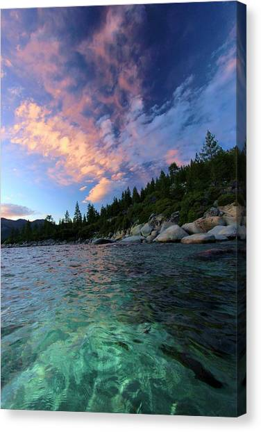 Canvas Print featuring the photograph Healing Waters by Sean Sarsfield