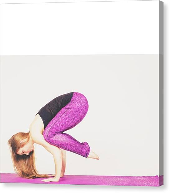 Gym Canvas Print - #health #fitness #fit #fitnessmodel by David Haskett II