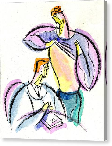 Health Insurance Canvas Print - Health by Leon Zernitsky