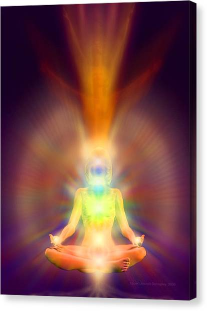 Healthy Aura Canvas Print