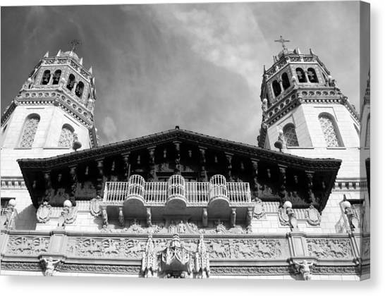 Hearst Castle Towers Canvas Print