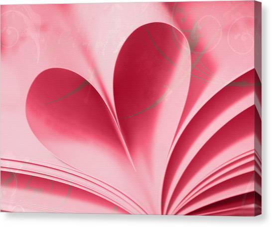 Heart A Flutter Canvas Print