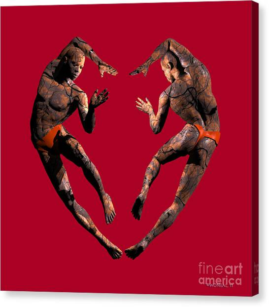 Heart Dance Canvas Print