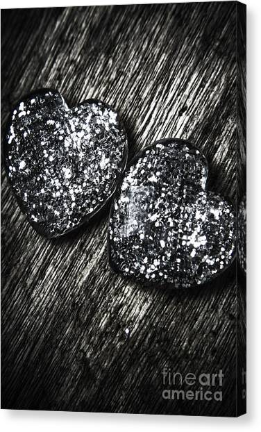Present Canvas Print - Heart Glass Glitters by Jorgo Photography - Wall Art Gallery