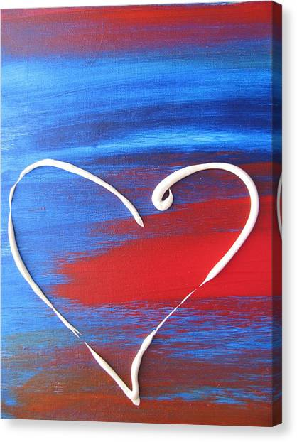 Heart In Motion Canvas Print