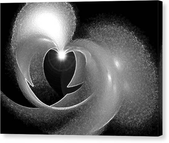 Heart Light Canvas Print