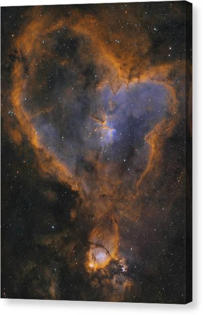 Heart Nebula Canvas Print