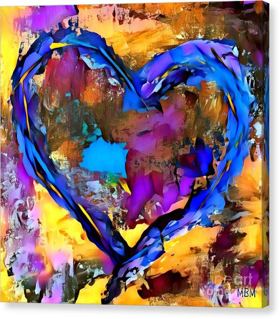 Heart No 7 Canvas Print