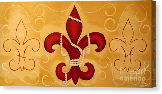 Heart Of New Orleans Canvas Print