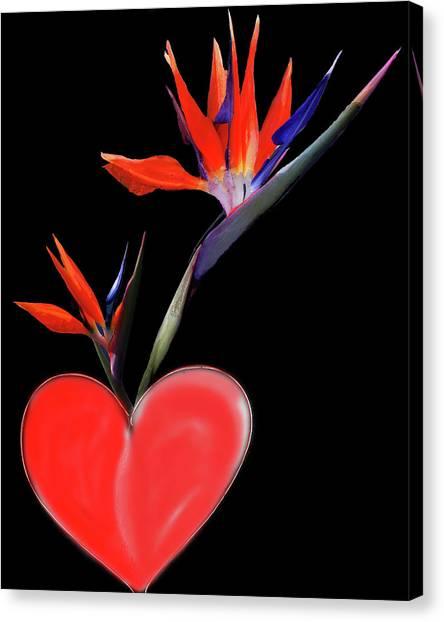 Heart  Of Paradise Canvas Print