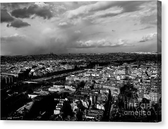 Paris 3 Canvas Print