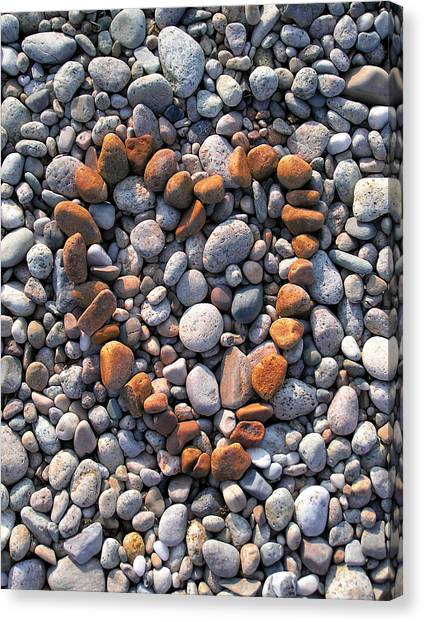 Heart Of Stones Canvas Print