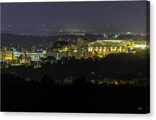 Syracuse University Canvas Print - Heart Of The City by Everet Regal