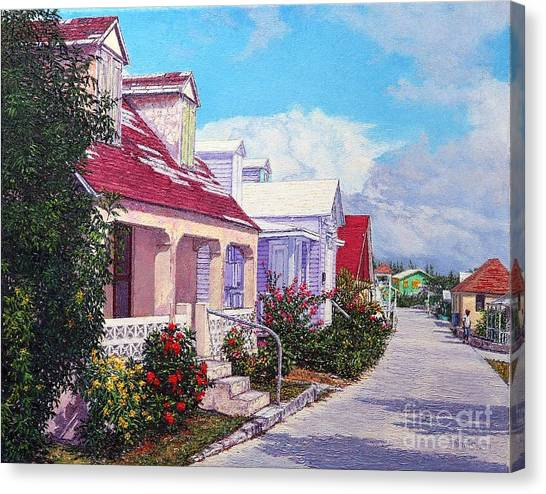 Eleuthera Art Canvas Print - Heart Of The Current by Eddie Minnis