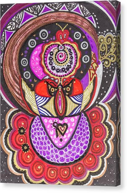 Heart Of The Feminine Canvas Print