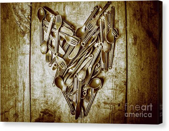 Anniversary Canvas Print - Heart Of The Kitchen by Jorgo Photography - Wall Art Gallery