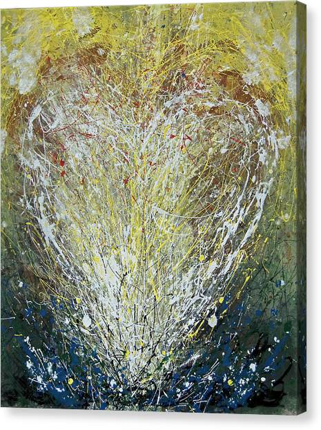 Heart One Canvas Print