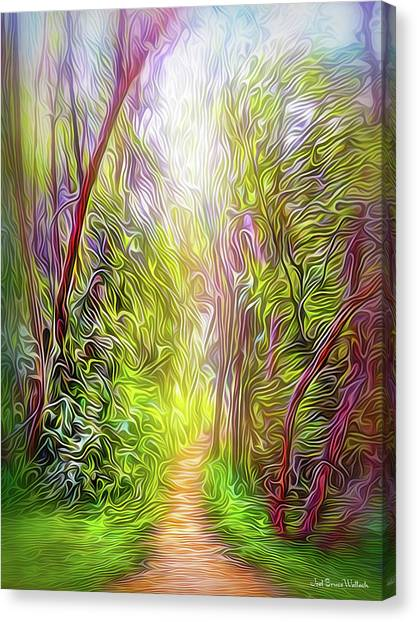 Heartbeat Of The Trail Canvas Print