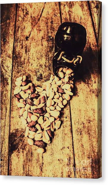Retro Styled Canvas Print - Hearts And Spills by Jorgo Photography - Wall Art Gallery