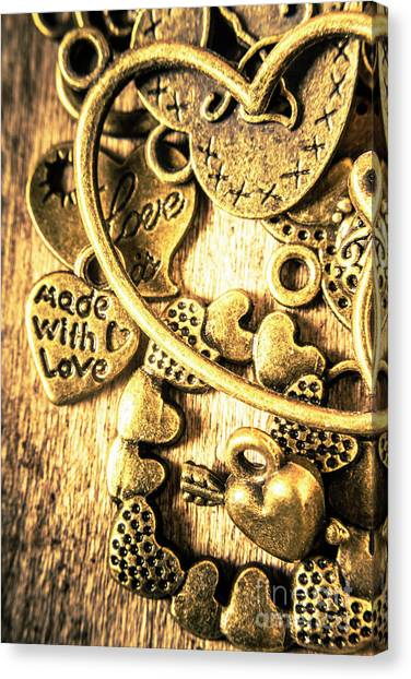 Present Canvas Print - Hearts And Treasure by Jorgo Photography - Wall Art Gallery