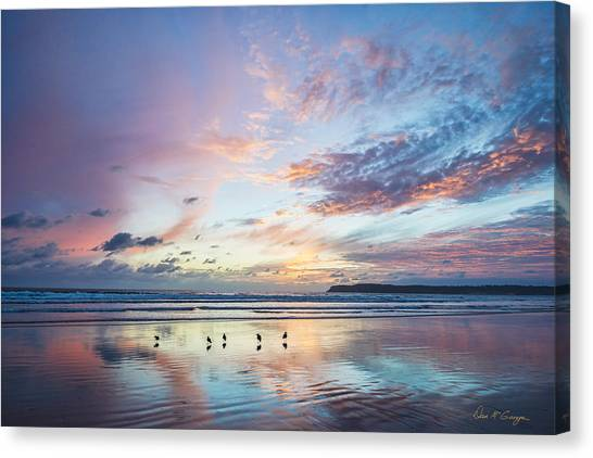 Hearts In The Sky Canvas Print