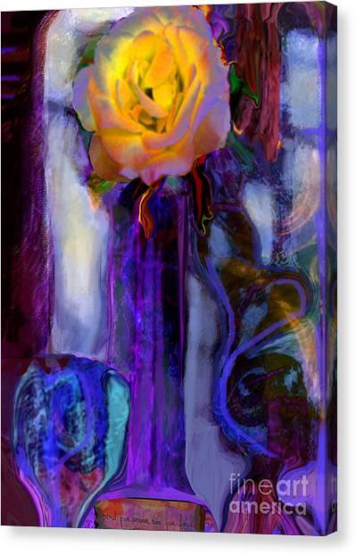 Hearts 'n Flowers Love Always Canvas Print