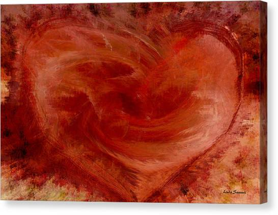 Hearts Of Fire Canvas Print