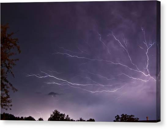 Heat Lightning Canvas Print