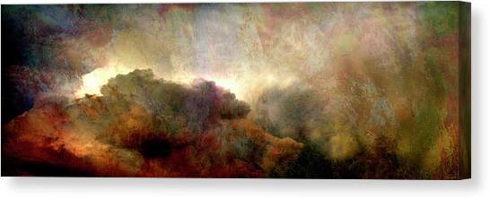 Heaven And Earth - Abstract Art Canvas Print