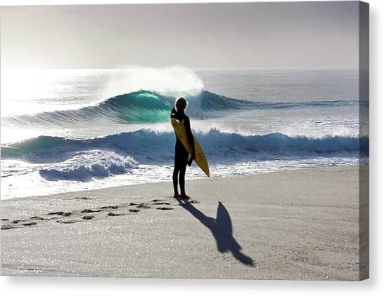 Surfing Canvas Print - Heaven On A Stick. by Sean Davey