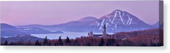 Heavenly Alpenglow Canvas Print