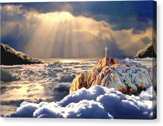 Heavenly Ascension Canvas Print
